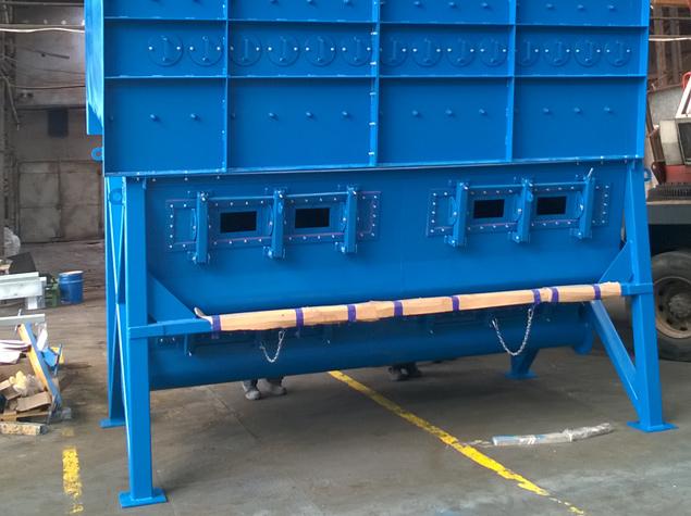Air separators, fibre distributors, steel structures