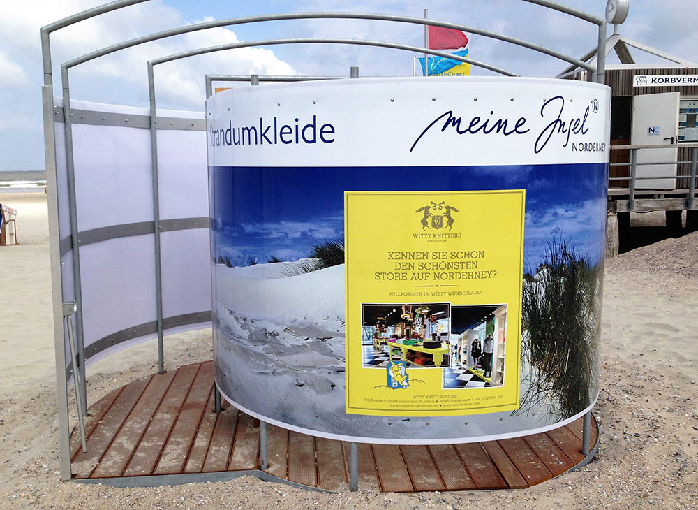 Outdoor advertising media, Norderney